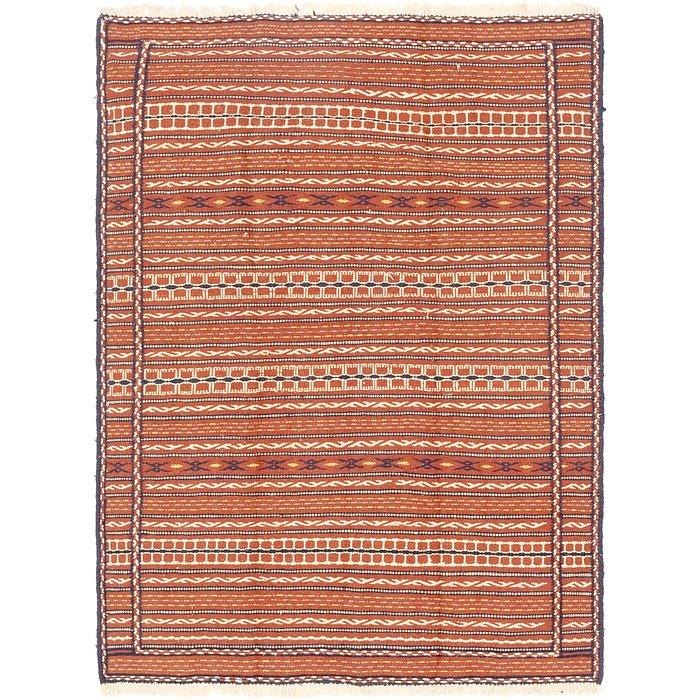 4' 7 x 6' 5 Ghoochan Persian Rug