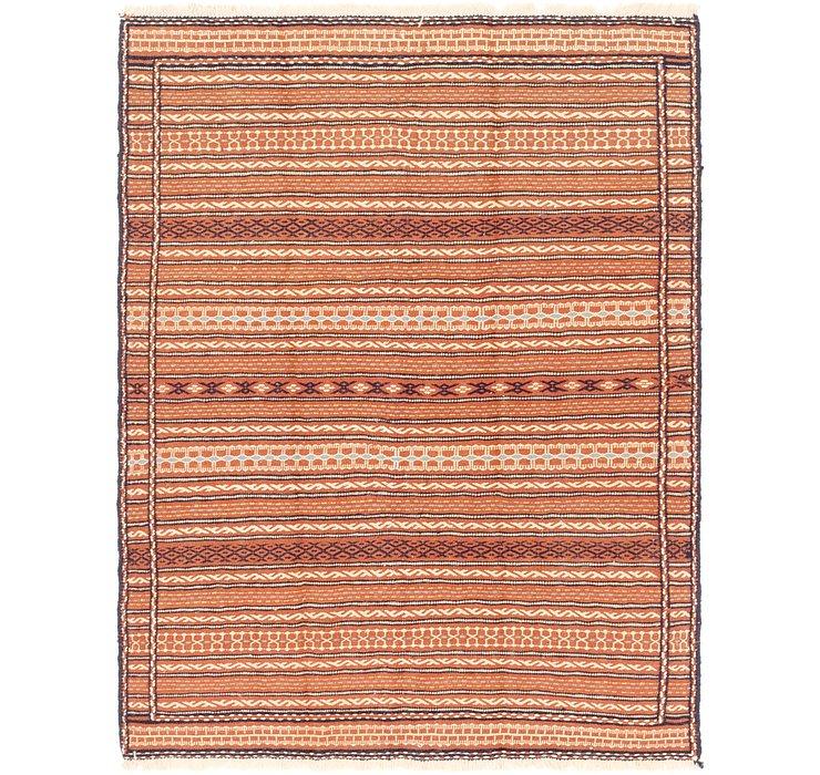 4' 10 x 6' 6 Ghoochan Persian Rug