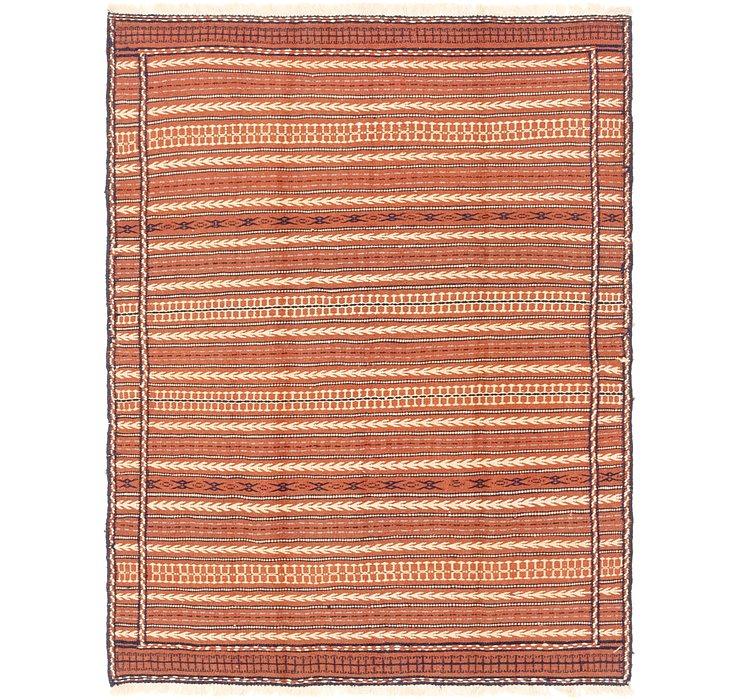 5' x 6' 7 Ghoochan Persian Rug