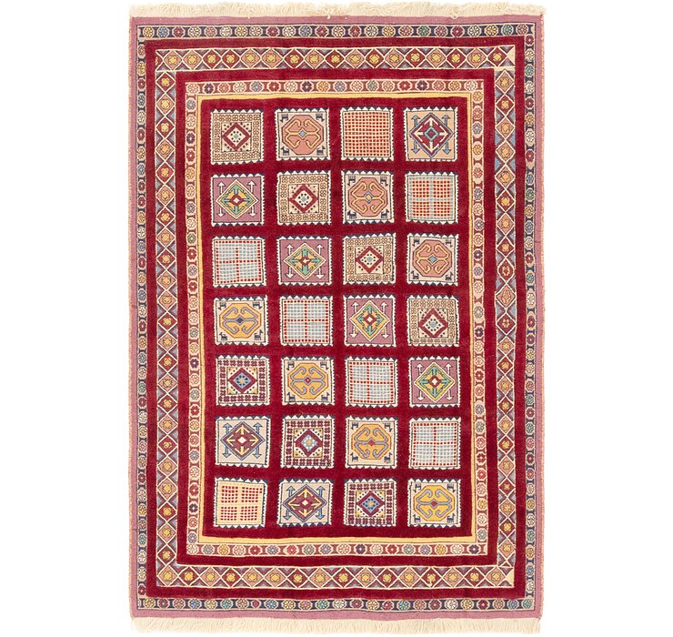 137cm x 205cm Ghoochan Persian Rug