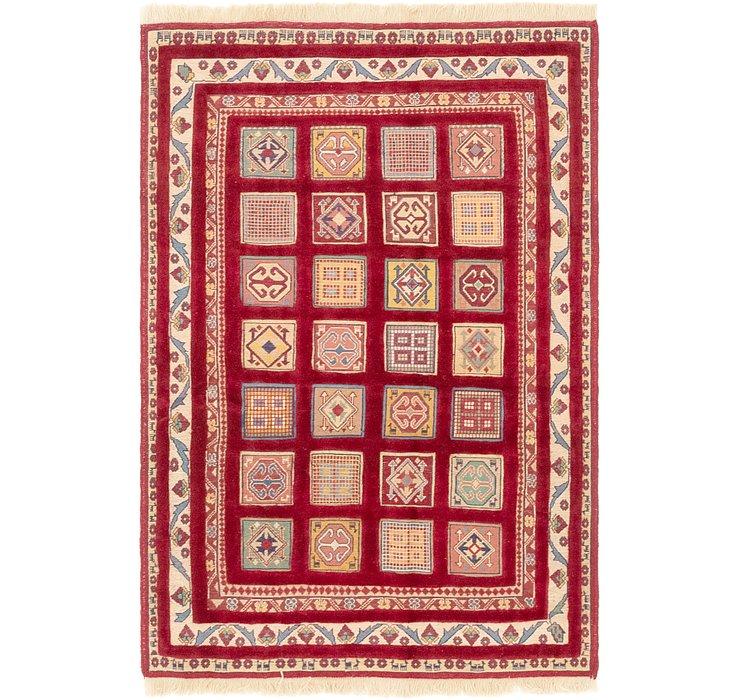 3' 10 x 6' Ghoochan Persian Rug