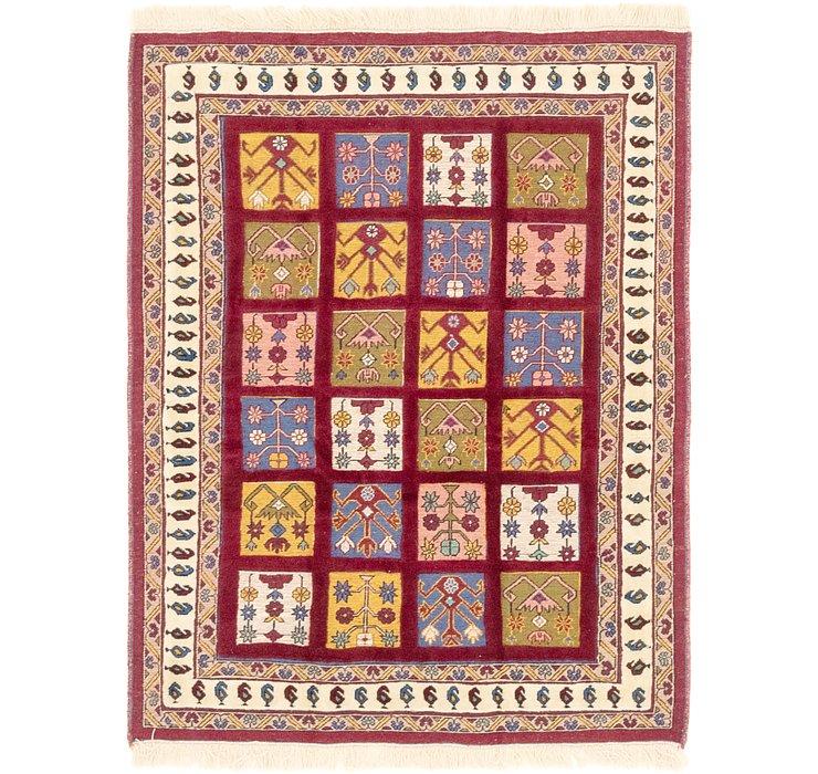 3' 9 x 4' 10 Ghoochan Persian Rug