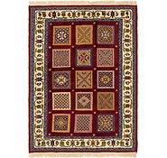 Link to 4' 2 x 6' Ghoochan Persian Rug