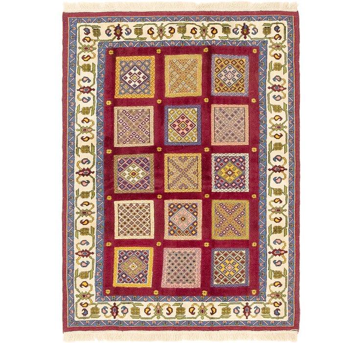 4' 2 x 6' Ghoochan Persian Rug