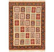 Link to 4' 4 x 6' Ghoochan Persian Rug
