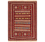 Link to 135cm x 193cm Ghoochan Persian Rug