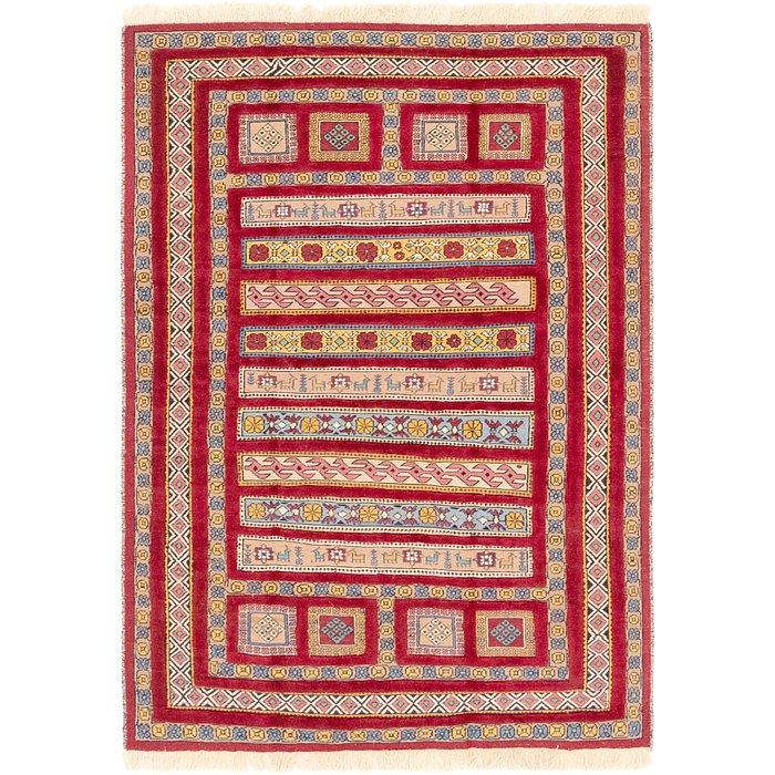 4' 5 x 6' 4 Ghoochan Persian Rug