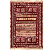 Link to 4' 4 x 6' 7 Ghoochan Persian Rug