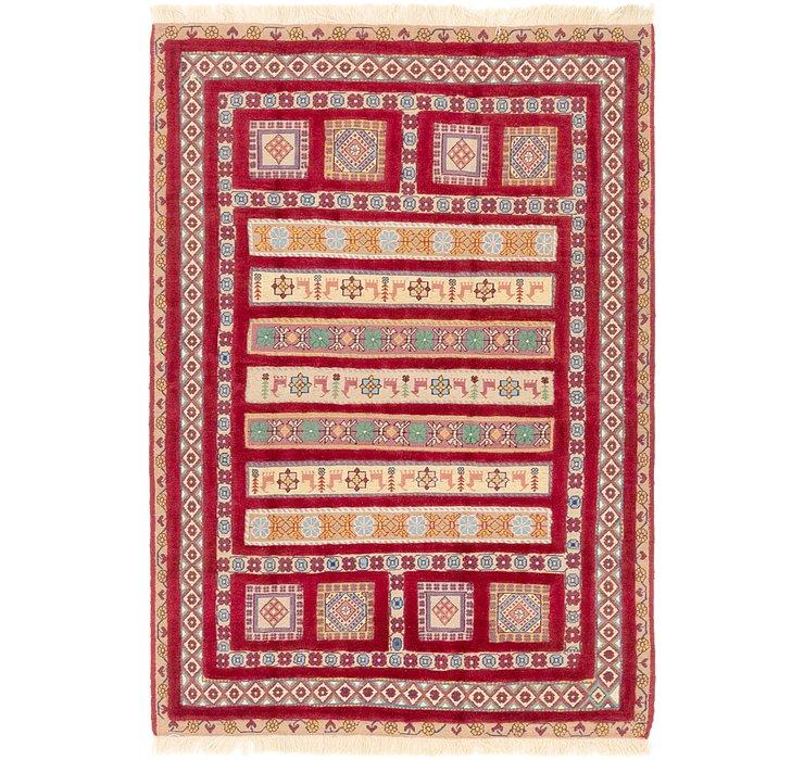 132cm x 200cm Ghoochan Persian Rug