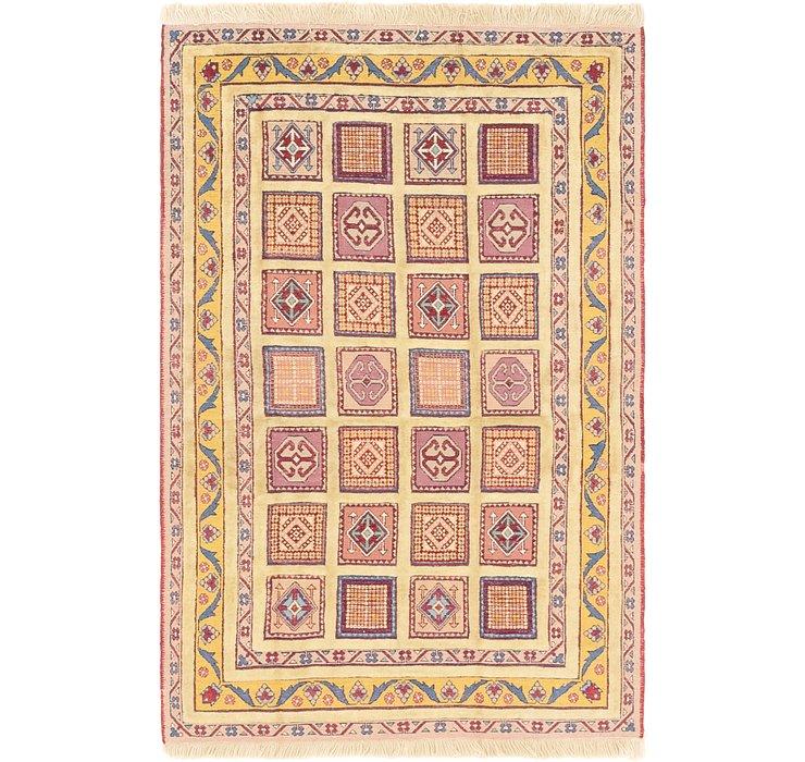 4' x 6' Ghoochan Persian Rug