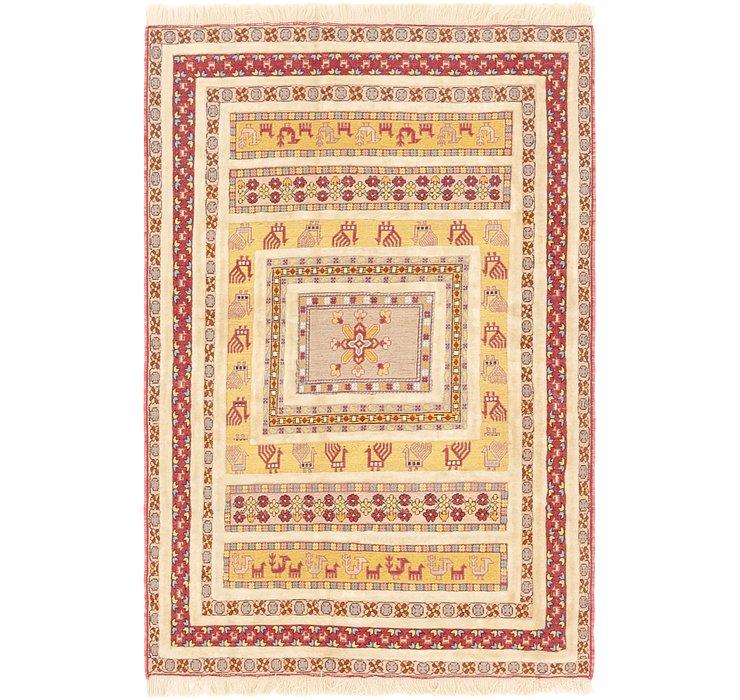 122cm x 178cm Ghoochan Persian Rug