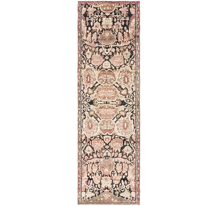 2' 6 x 9' Hamedan Persian Runner ...