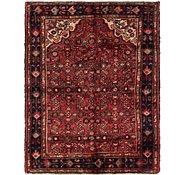 Link to 3' 7 x 4' 9 Hossainabad Persian Rug