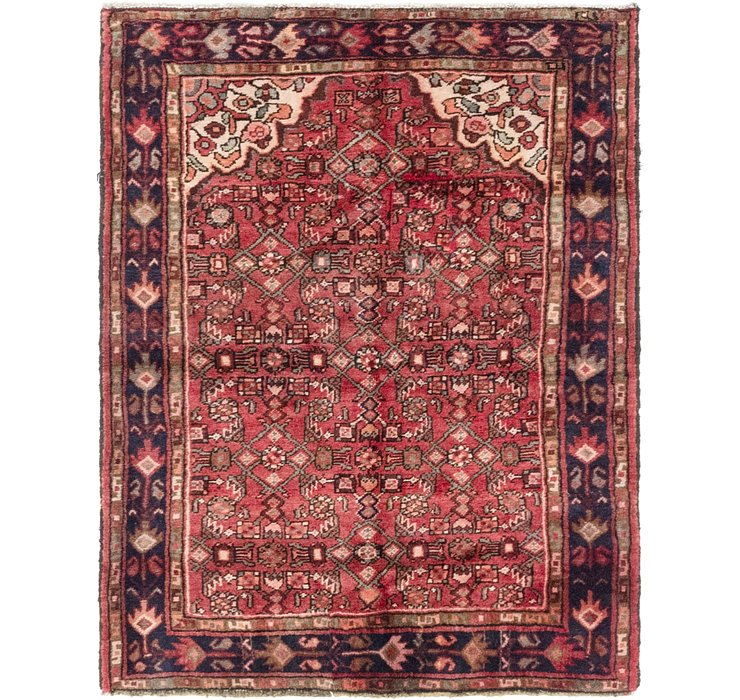 3' 7 x 4' 9 Hossainabad Persian Rug