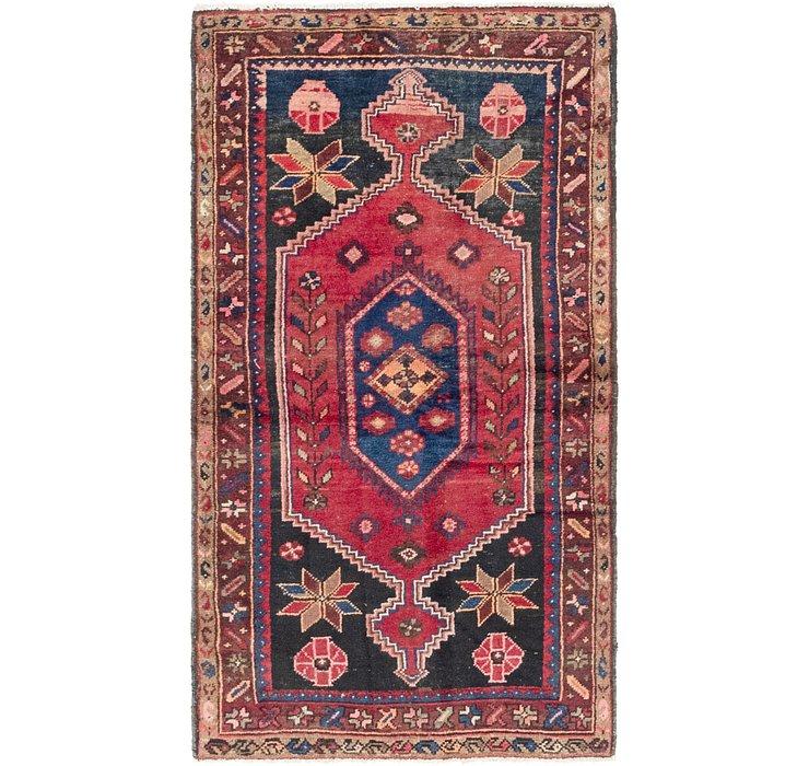 3' 3 x 6' 3 Hamedan Persian Rug