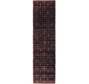Link to 97cm x 395cm Hossainabad Persian Runner Rug