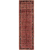 Link to 107cm x 390cm Hossainabad Persian Runner Rug