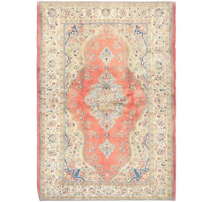 4' 6 x 6' 8 Tabriz Persian Rug