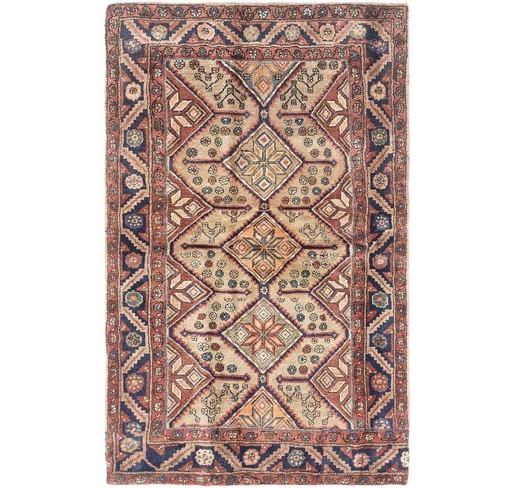 4' 1 x 6' 7 Koliaei Persian Rug