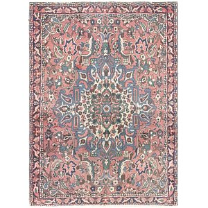 Link to 122cm x 160cm Bakhtiar Persian Rug item page