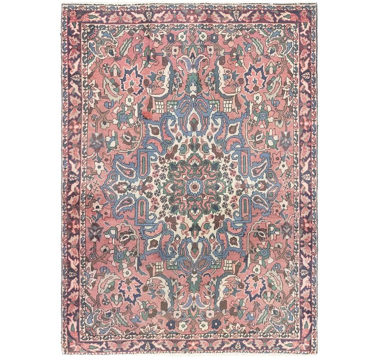 4' x 5' 3 Bakhtiar Persian Rug