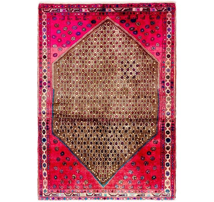 4' 2 x 6' 3 Koliaei Persian Rug