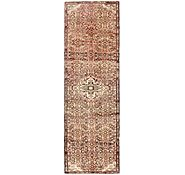 Link to 85cm x 280cm Hossainabad Persian Runner Rug