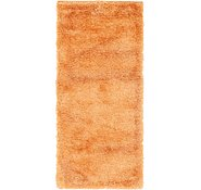 Link to 80cm x 183cm Luxe Solid Shag Runner Rug