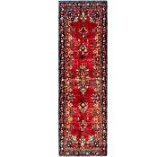 Link to 3' 4 x 11' Hamedan Persian Runner Rug
