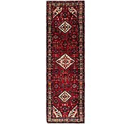 Link to 3' 8 x 12' 6 Hossainabad Persian Runner Rug