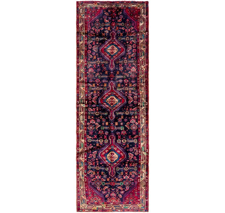 3' 7 x 11' Darjazin Persian Runner...