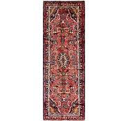 Link to 100cm x 292cm Hamedan Persian Runner Rug