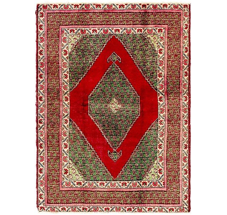 4' 6 x 6' 2 Tabriz Persian Rug