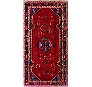 Link to 4' 10 x 10' Hamedan Persian Runner Rug