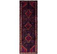 Link to 112cm x 353cm Mazlaghan Persian Runner Rug