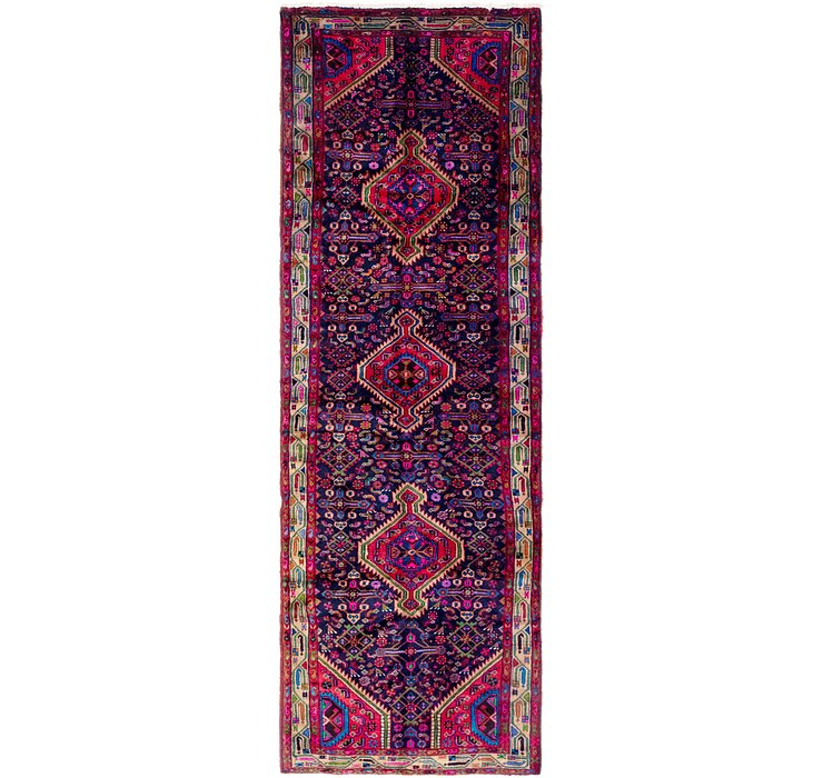 3' 8 x 11' 7 Mazlaghan Persian Runne...