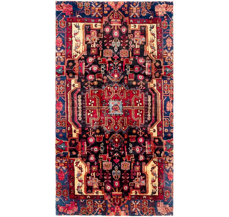 122cm x 230cm Nahavand Persian Rug