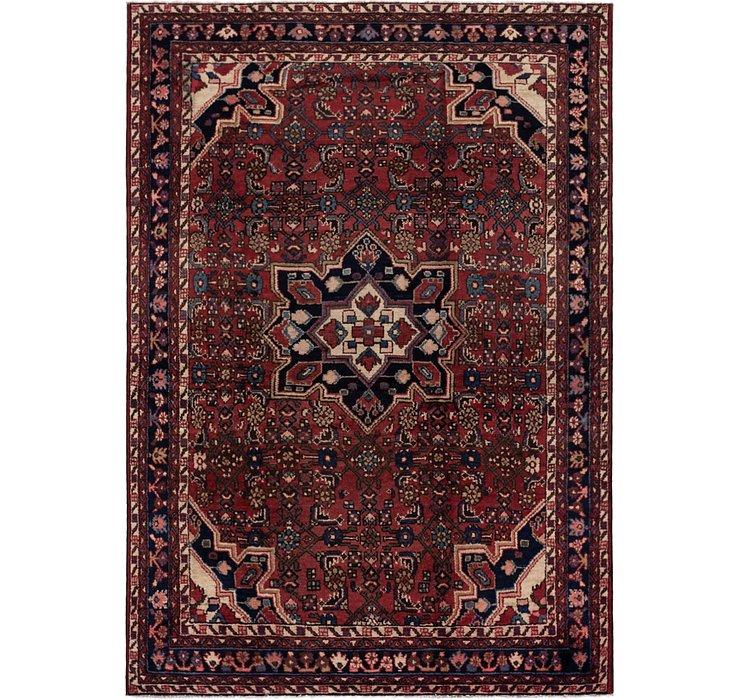 152cm x 213cm Hossainabad Persian Rug