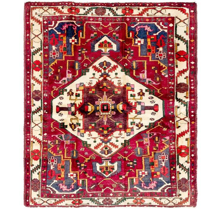 5' 3 x 6' 3 Bakhtiari Persian Rug