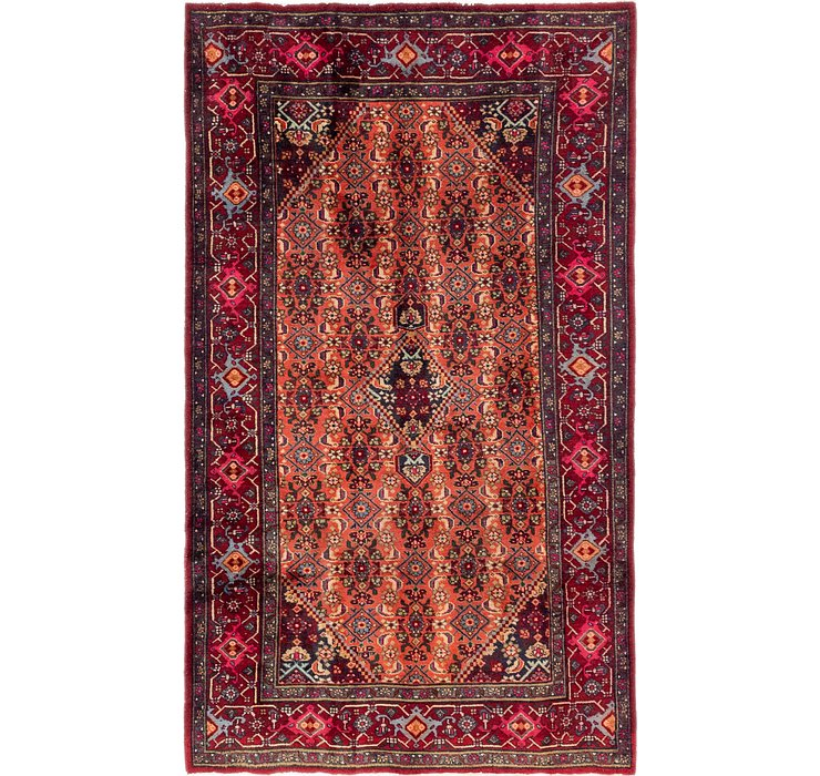 4' x 7' Gholtogh Persian Rug