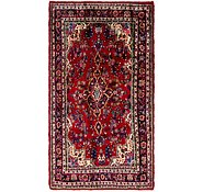 Link to 4' 6 x 8' 8 Hamedan Persian Runner Rug