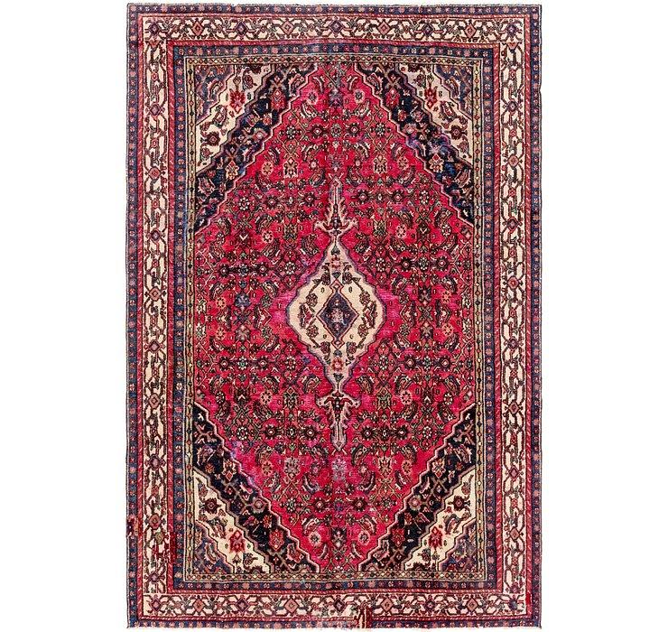 200cm x 305cm Hamedan Persian Rug