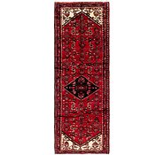 Link to 110cm x 323cm Hossainabad Persian Runner Rug
