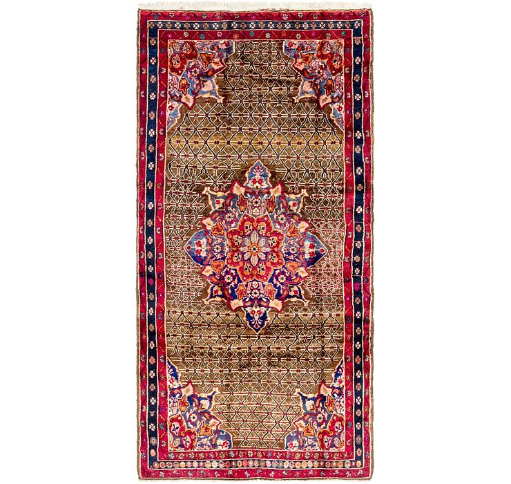 4' 7 x 9' 5 Koliaei Persian Rug