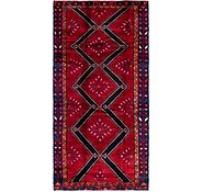 Link to 4' 6 x 9' 3 Hamedan Persian Runner Rug