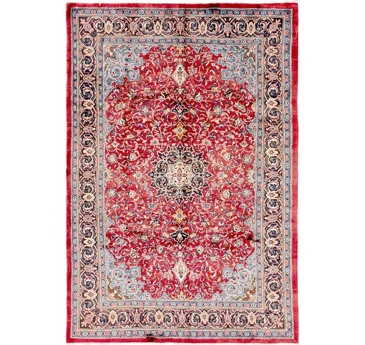 7' x 10' 3 Sharough Persian Rug