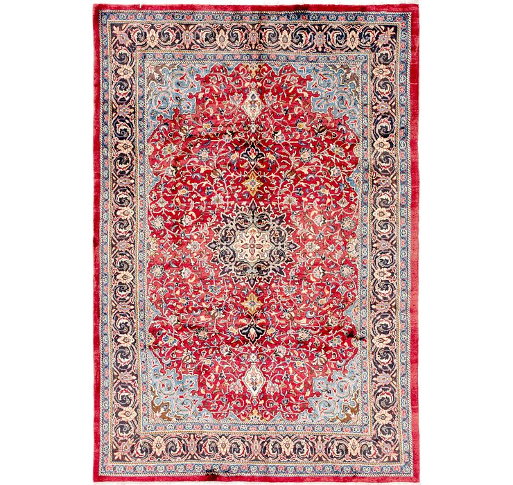 213cm x 312cm Sharough Persian Rug