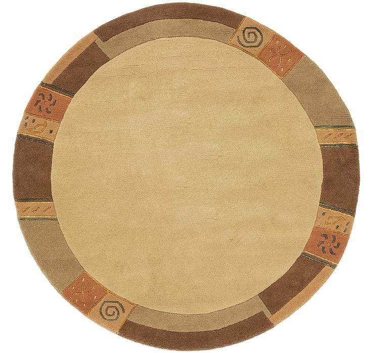 152cm x 152cm Indo Tibet Round Rug
