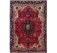 Link to 7' 7 x 11' Tabriz Persian Rug