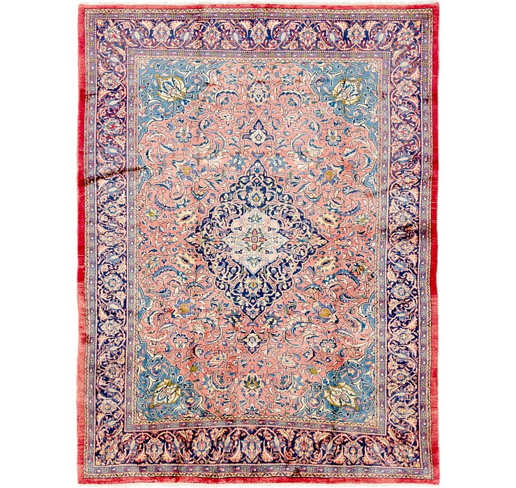 8' x 10' 3 Farahan Persian Rug